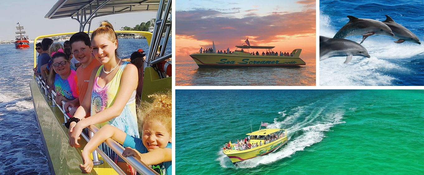 Clearwater Beach Day Trip with Sea Screamer Speedboat