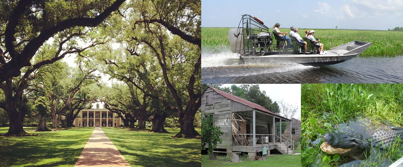 Grand Tour with 2 Plantations & Airboat Swamp Tour