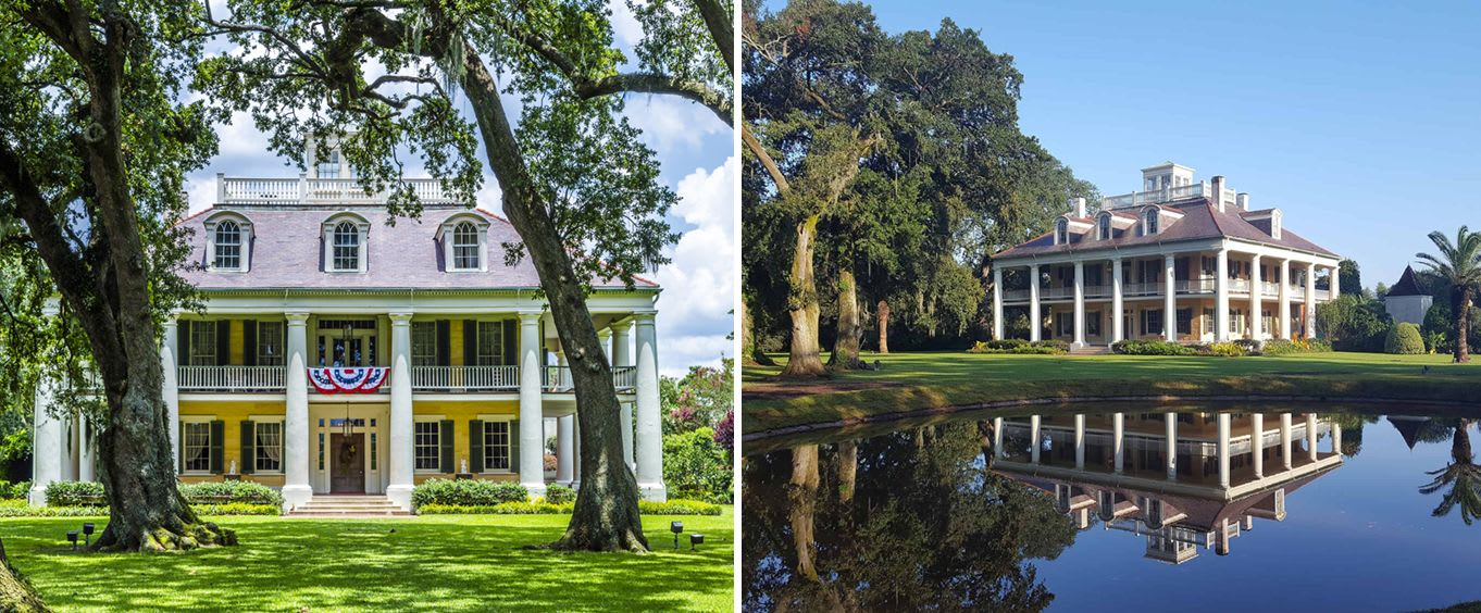 Houmas House & Madewood Plantation Mansion Tour with Lunch