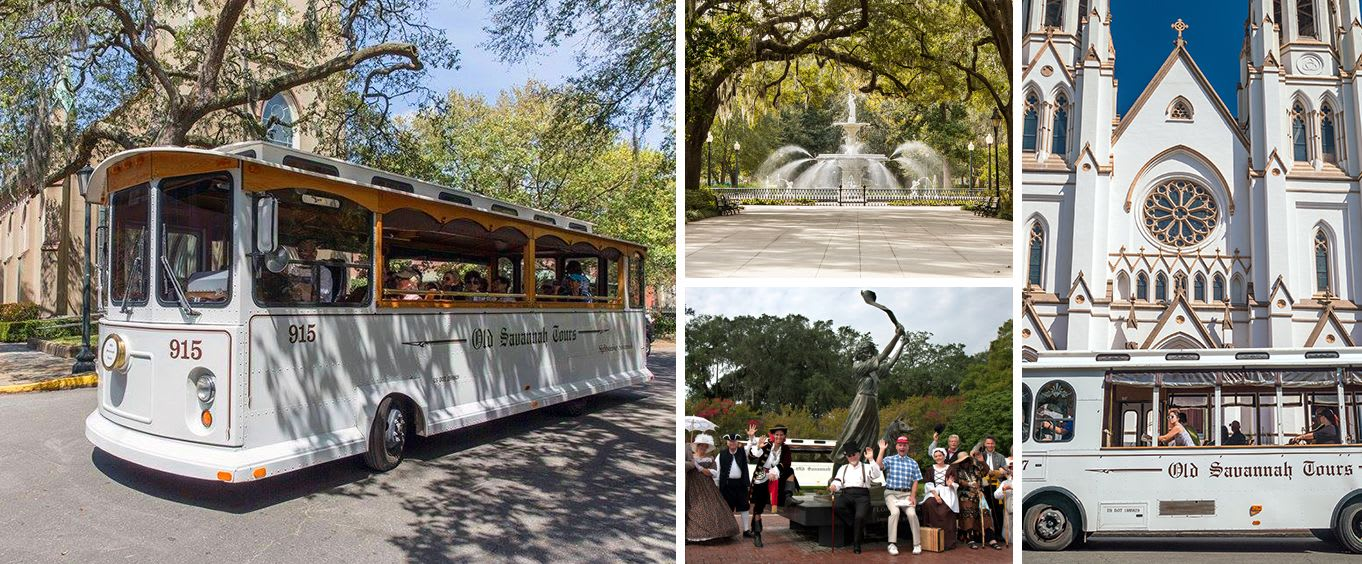 Savannah Experience: Sightseeing Bus Tour of the Historic and Victorian Districts