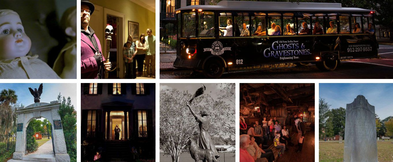 Ghosts & Gravestones of Savannah Bus Tour