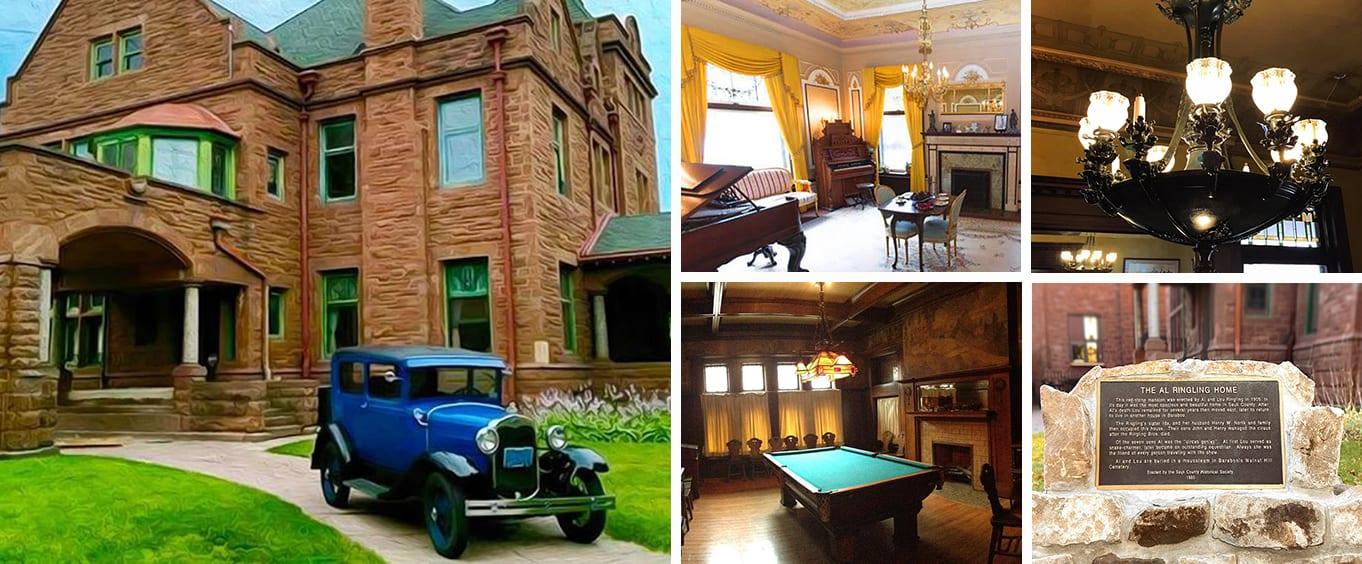 Historic Ringling Brothers Mansion in Baraboo