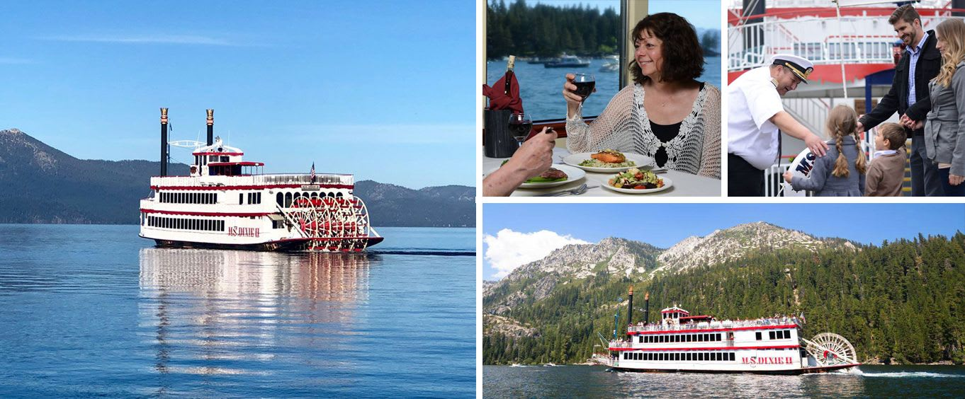 M.S. Dixie II Sightseeing & Sunset Dinner Cruises