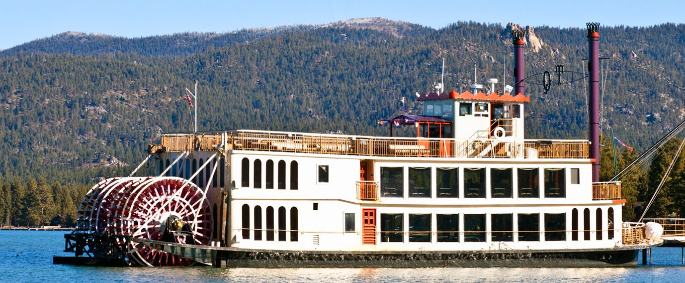 Lake Tahoe Sightseeing & Dinner Cruises Aboard The Tahoe Queen