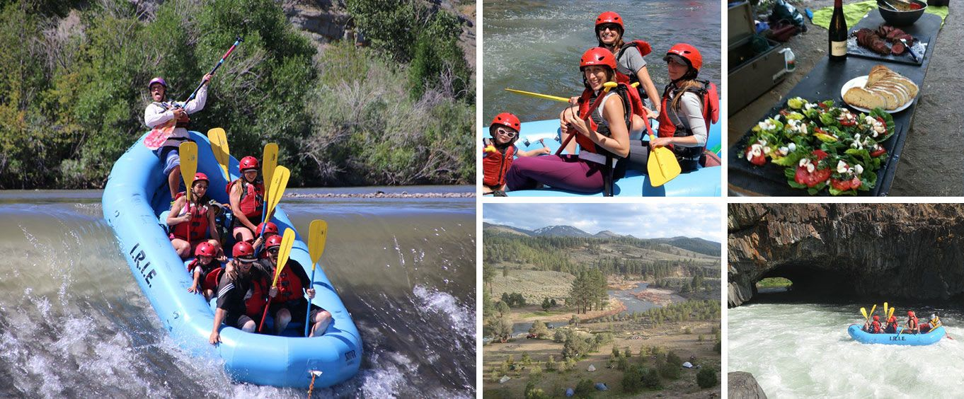 Lake Tahoe Whitewater Rafting Tours at Isolated Rivers