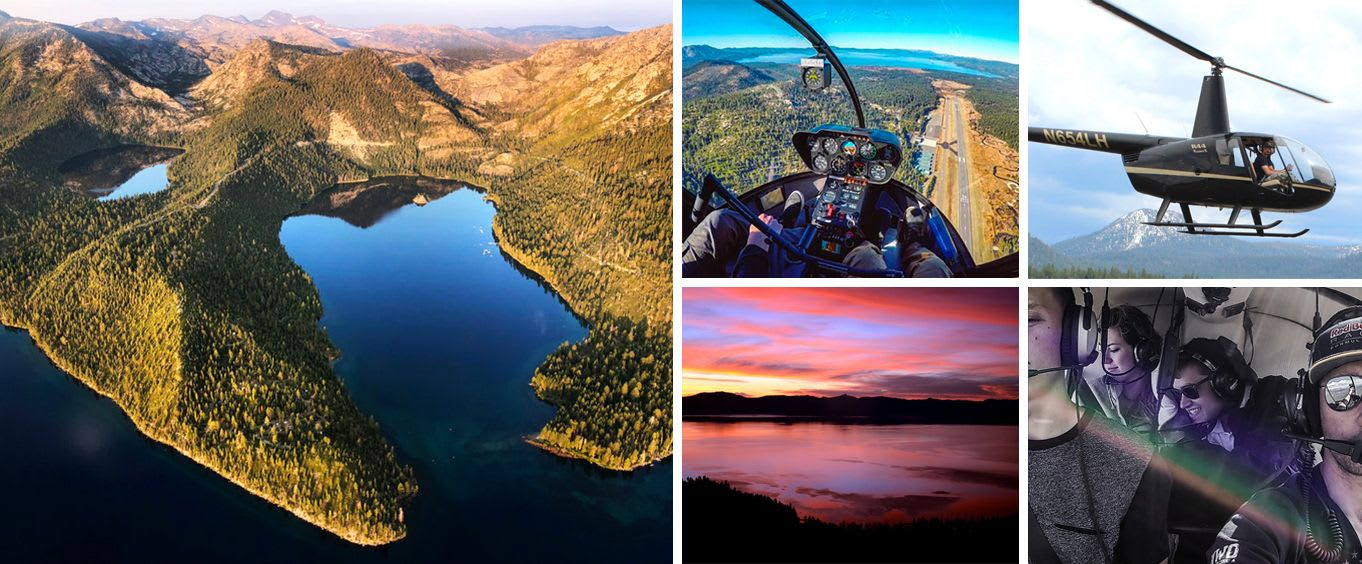 Lake Tahoe Helicopter Tours - Tickets for Helicopter Rides