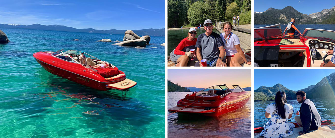 Emerald Bay Sightseeing Cruise  2 Hour Private Boat Charter with Captain