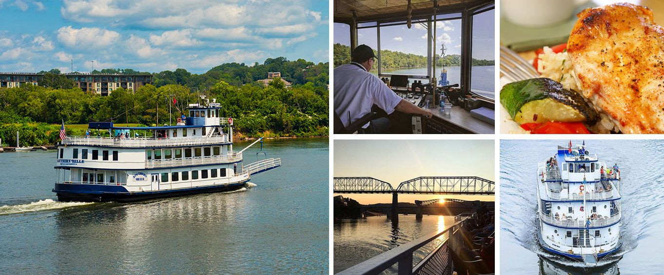 Chattanooga Riverboat Sightseeing, Lunch & Dinner Cruises