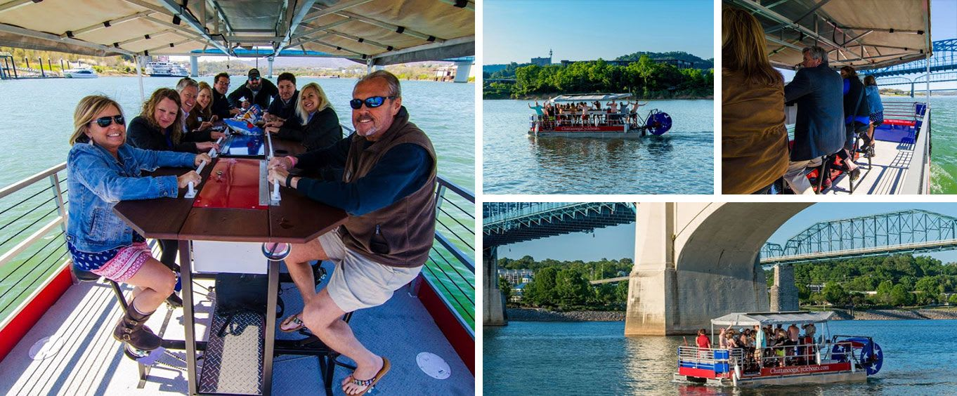 Chattanooga Cycle Boat River Cruise