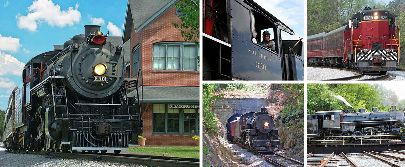 Chattanooga Tennessee Valley Railroad Train Ride