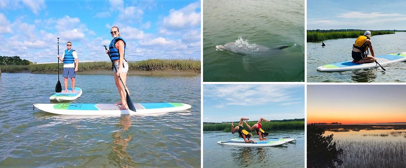 Guided Paddle Board Tour