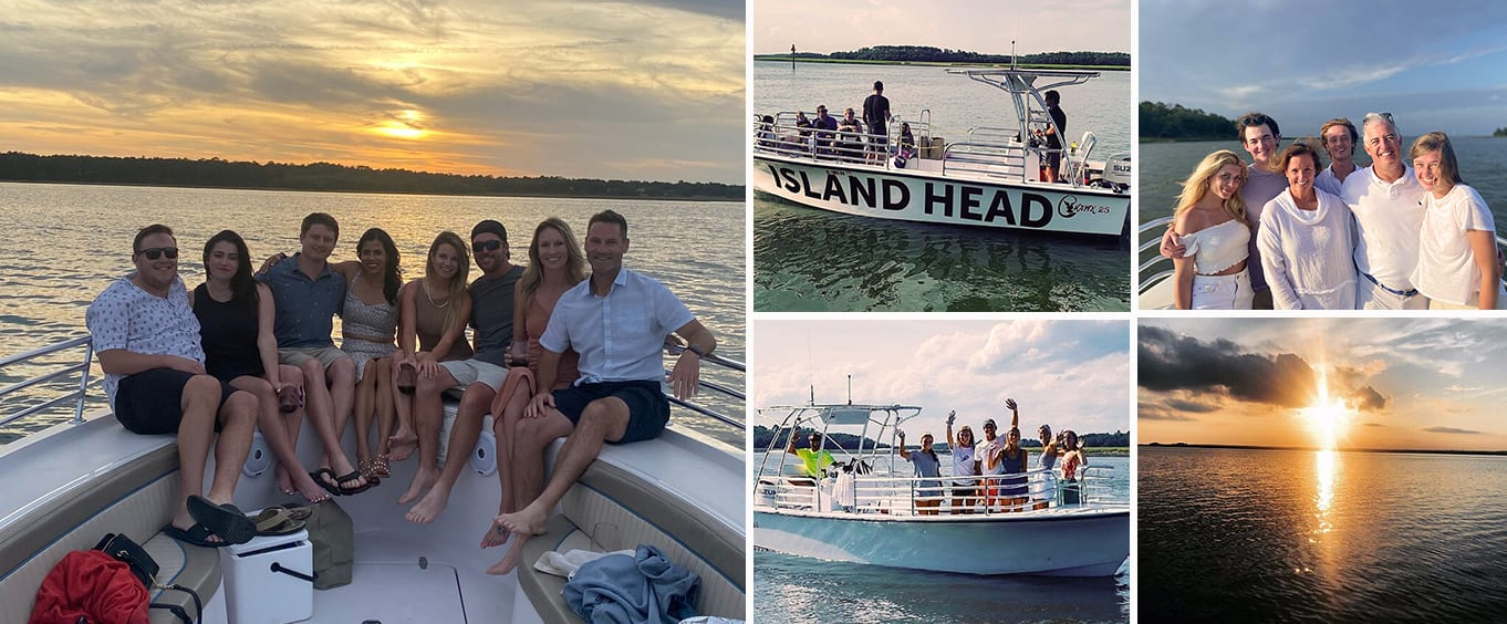 Hilton Head Private Sunset Cruise for Up to 14 Passengers
