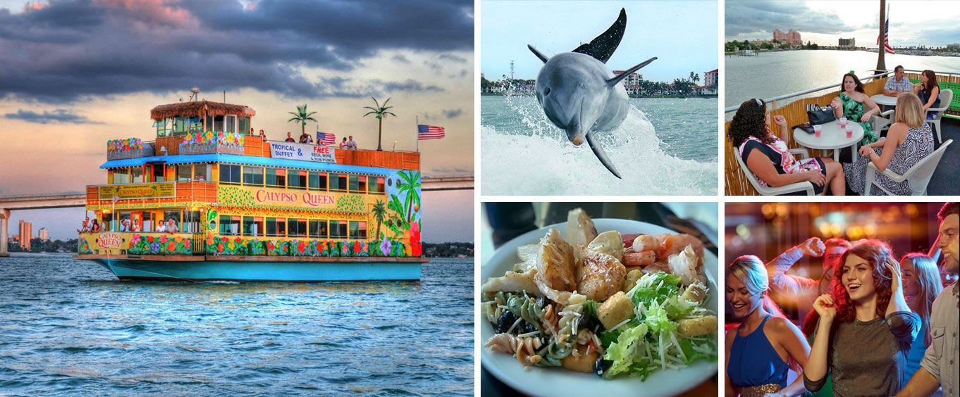 Calypso Queen Sightseeing, Lunch, & Dinner Cruises Clearwater