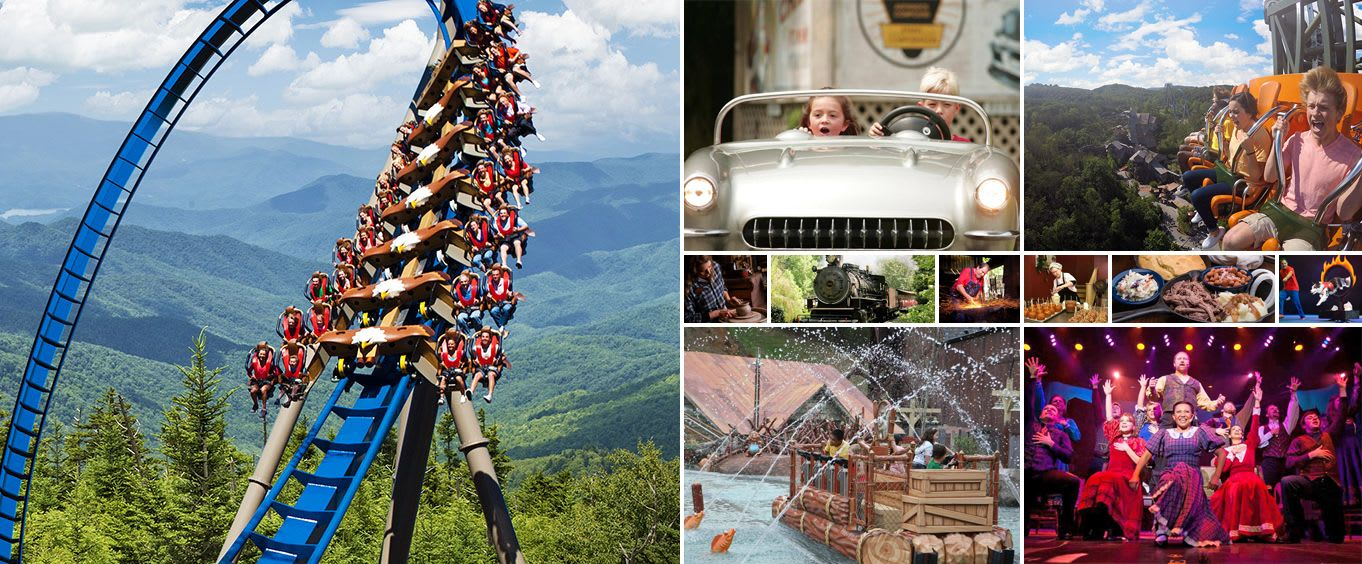 Dollywood Theme Park Tennessee