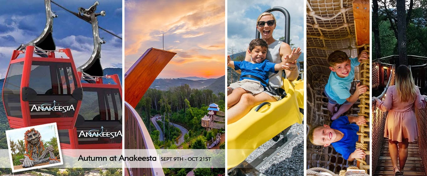 Anakeesta Mountain Sightseeing Chondola in Pigeon Forge - Hours, Schedule & Reviews