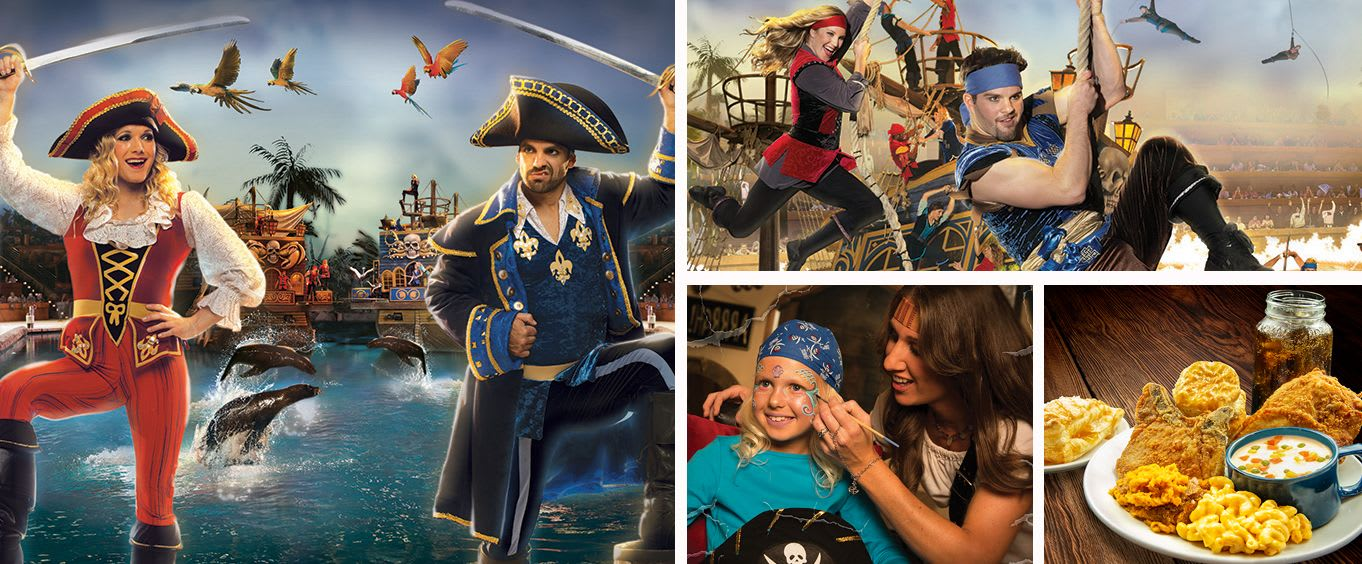 Pirates Voyage Dinner & Show Pigeon Forge