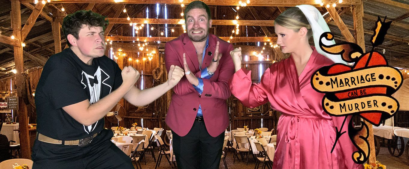 Marriage Can Be Murder, Murder Mystery Dinner Show