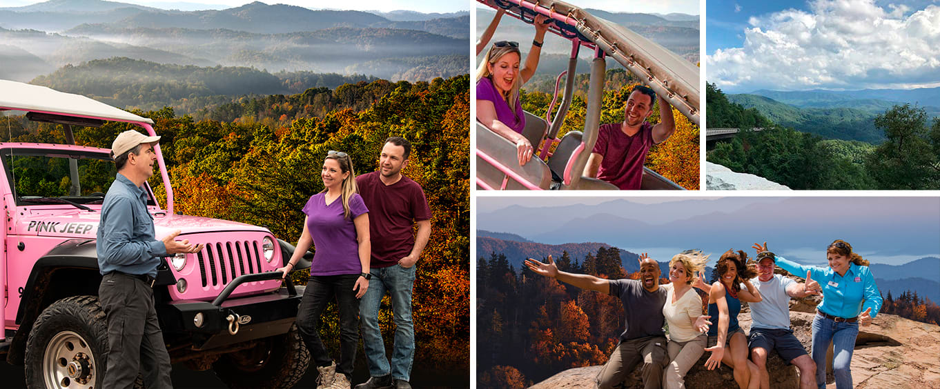 Foothills Parkway Smoky Mountains 3 Hour Pink Jeep Tour