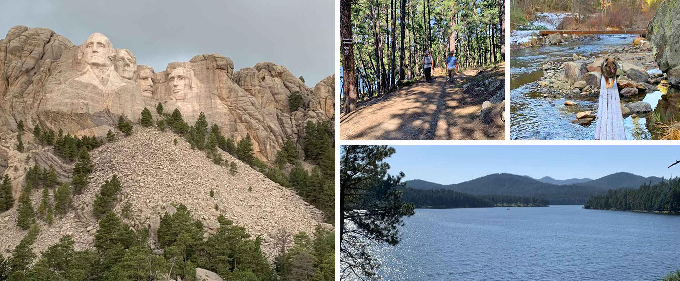Private Tour of Mt. Rushmore & Flume Trail Hike