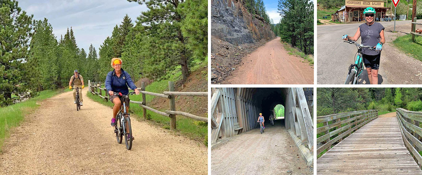 Mickelson Trail 20 Mile Private Bicycle Tour