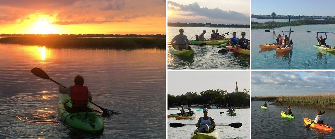 Guided Myrtle Beach Backwater Kayak Tour