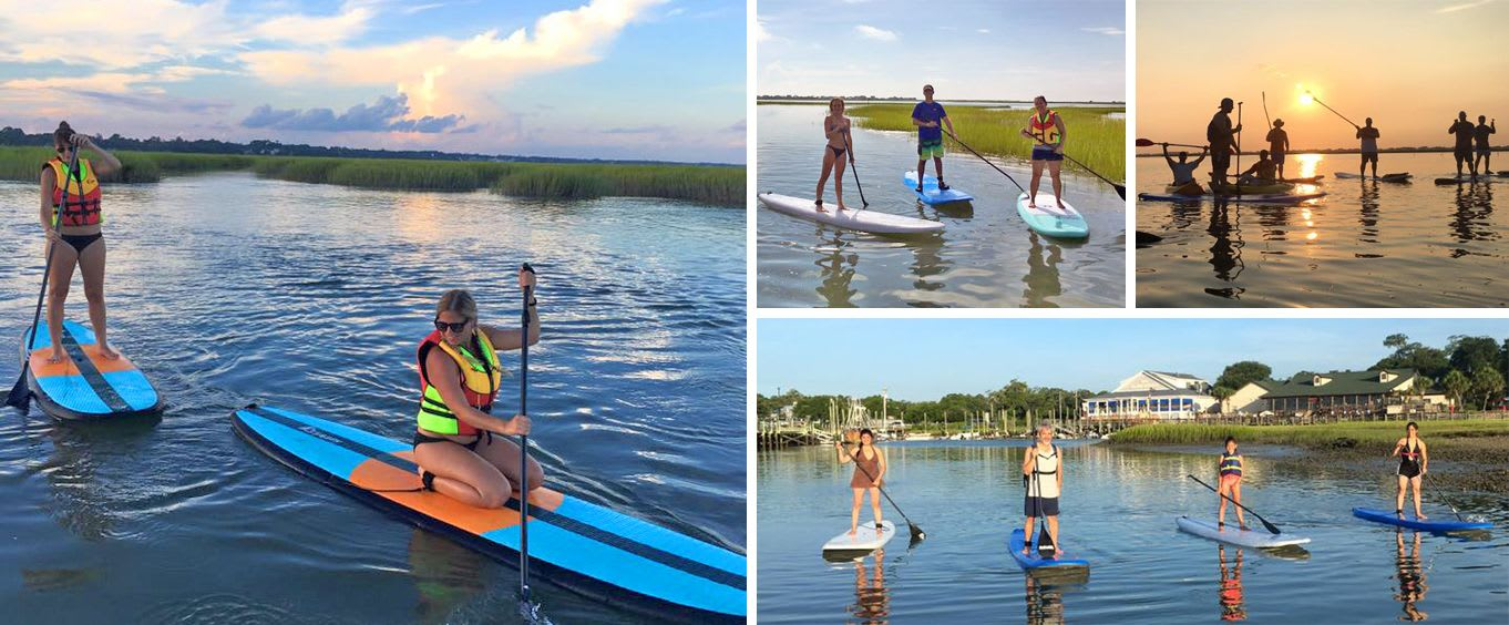 Myrtle Beach Guided Stand-Up Paddleboard Tours