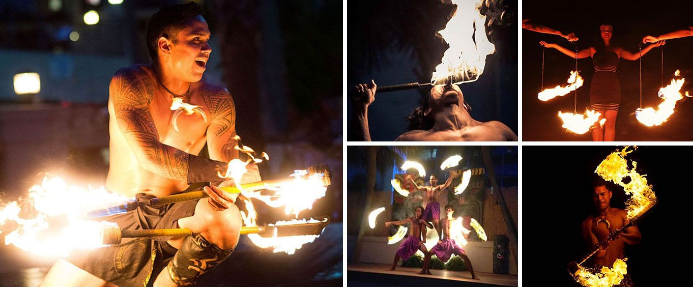 Polynesian Luau & Fire Dinner Show at St Johns Inn