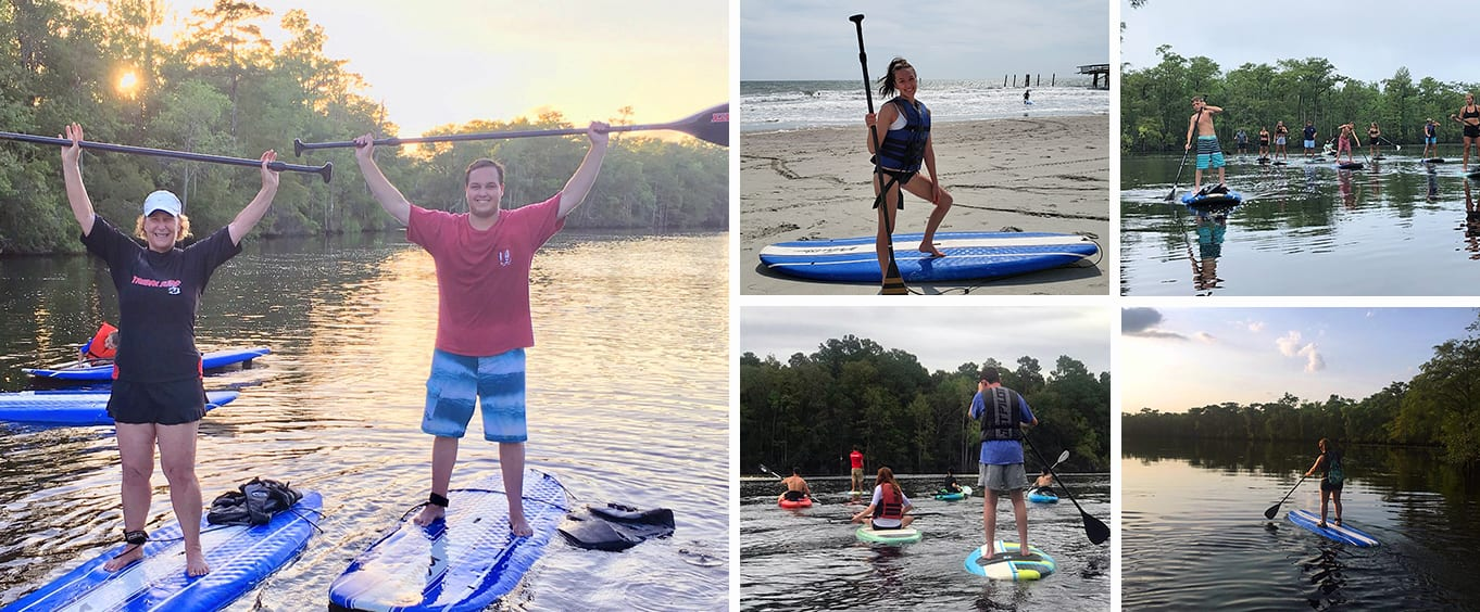 Guided Myrtle Beach Stand Up Paddleboard Tour