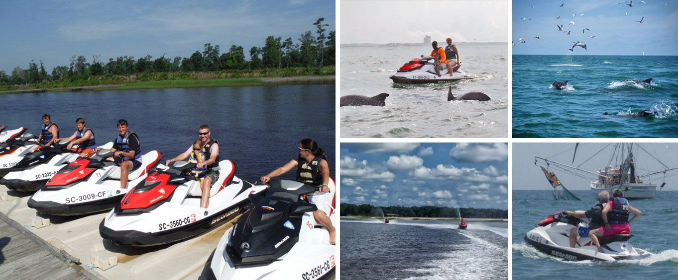 North Myrtle Beach Jet Ski Rentals & Jet Ski Dolphin Watch