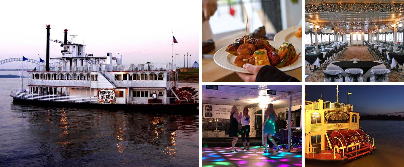 Memphis Riverboats Sightseeing & Dinner Cruises