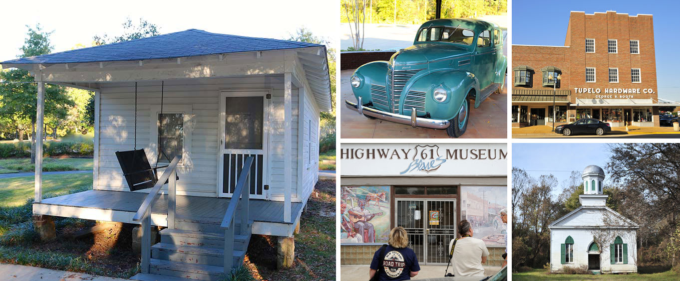 The Tupelo Mississippi Birthplace of Elvis Presley Day Trip