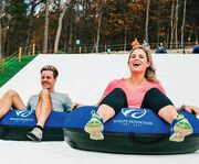 Top of the Hill at Snowflex Tubing Hill