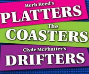Herb Reed's Platters, Clyde McPhatter's Drifters, & The Coasters