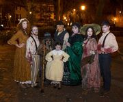 Cast at the Ghost Trolley Tour with Pirates House Tour & Dinner