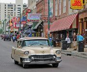 Classic Car on the Beale Street Walking Tour