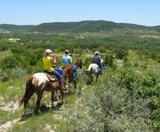Look Out Across the Land with Cross G Ranch Trail Rides