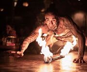 Fire Performer at Mai-Kai Polynesian Dinner Show