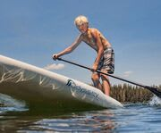 On the Lake with Get Up Stand Up Paddle Board Lessons on Lake Tahoe