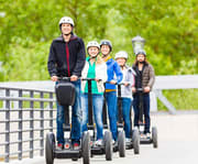 Group on the Chattanooga Historic Downtown 2 Hour Segway Tour