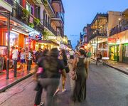 French Quarter on the New Orleans Ghost Tour