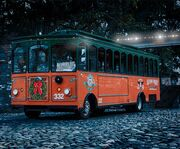 Old Town Trolley's Holiday Lights Tour Christmas Tree