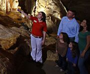 On the Tour at Natural Bridge Caverns - Discovery Tour