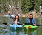 Group Yoga on the Pactola Lake: Private Kayak Or Paddleboard Experience