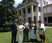 Performers at the Belle Meade Plantation Tour