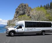 Shuttle for the Around The Lake Tahoe Tour