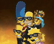 Drinks at The Simpsons in 4D
