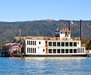 Paddles on the Lake Tahoe Sightseeing & Dinner Cruises Aboard The Tahoe Queen