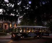 Tram of the Ghosts and Gravestones of Savannah Bus Tour
