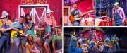 Comedy Barn Pigeon Forge Collage