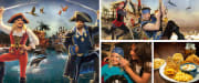 Pirates Voyage Dinner & Show Pigeon Forge Collage